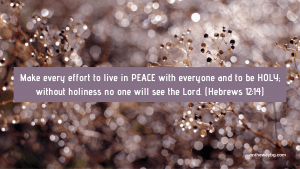 Desktop Wallpaper Peace and Holiness