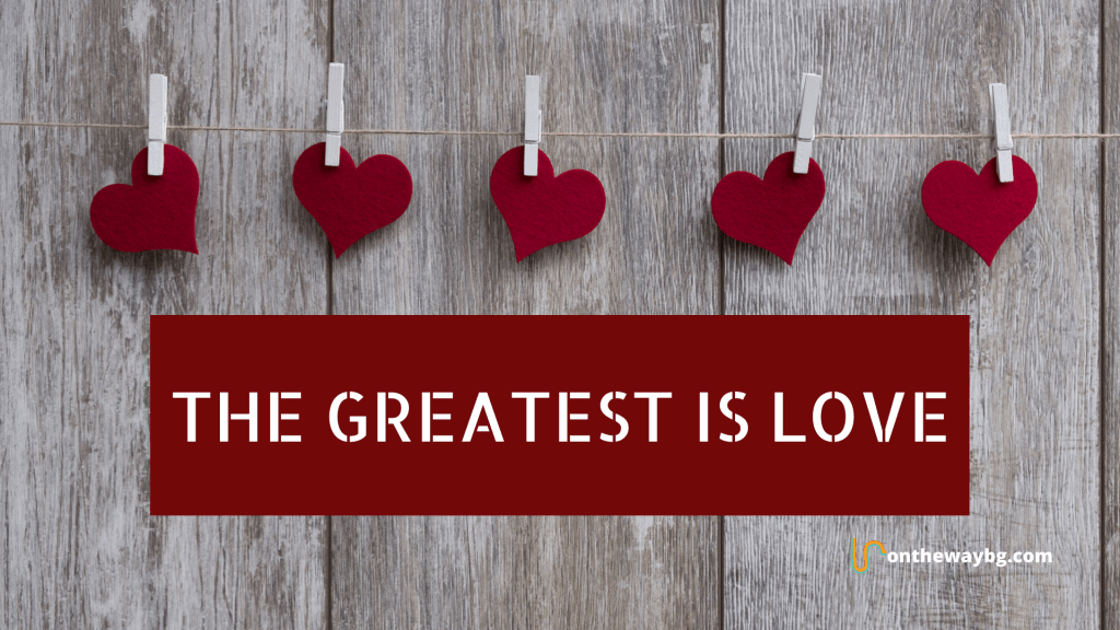 Desktop Wallpaper_The Greatest is Love
