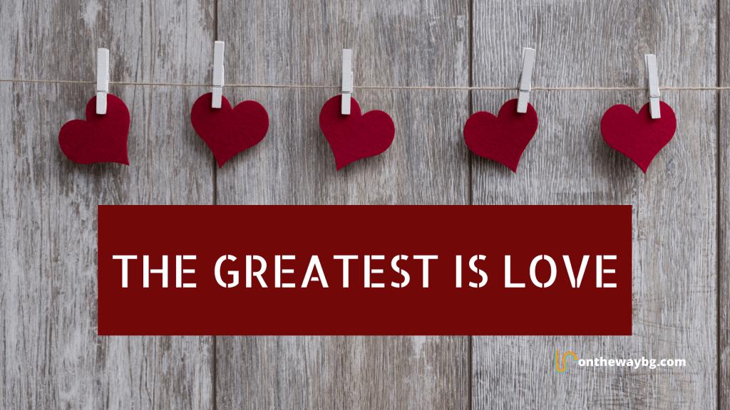 Desktop Wallpaper_The Greatest is Love