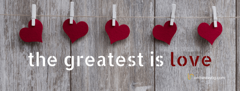 Facebook Cover - the Greatest is Love