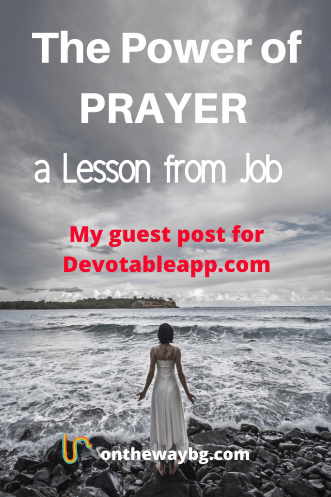 The power of prayer lesson from Job