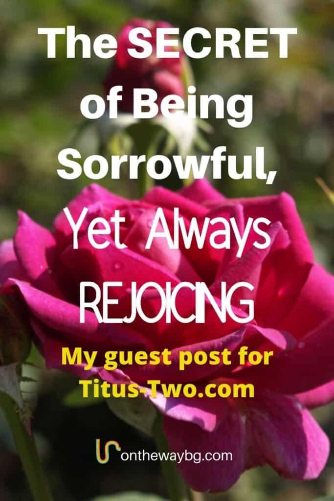 Sorrowful Yet Always Rejoicing